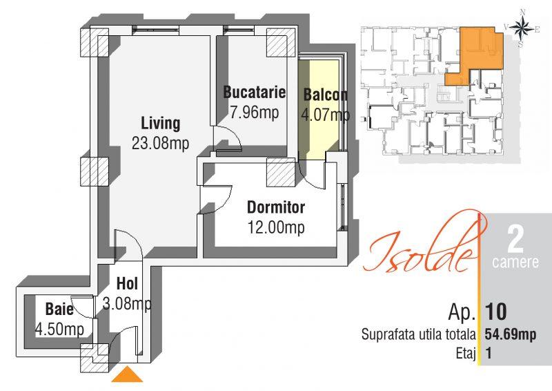 Apartament 2 camere Iasi