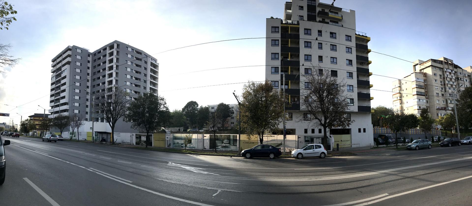 ansamblul rezidential Fusion Towers Iasi Nicolina