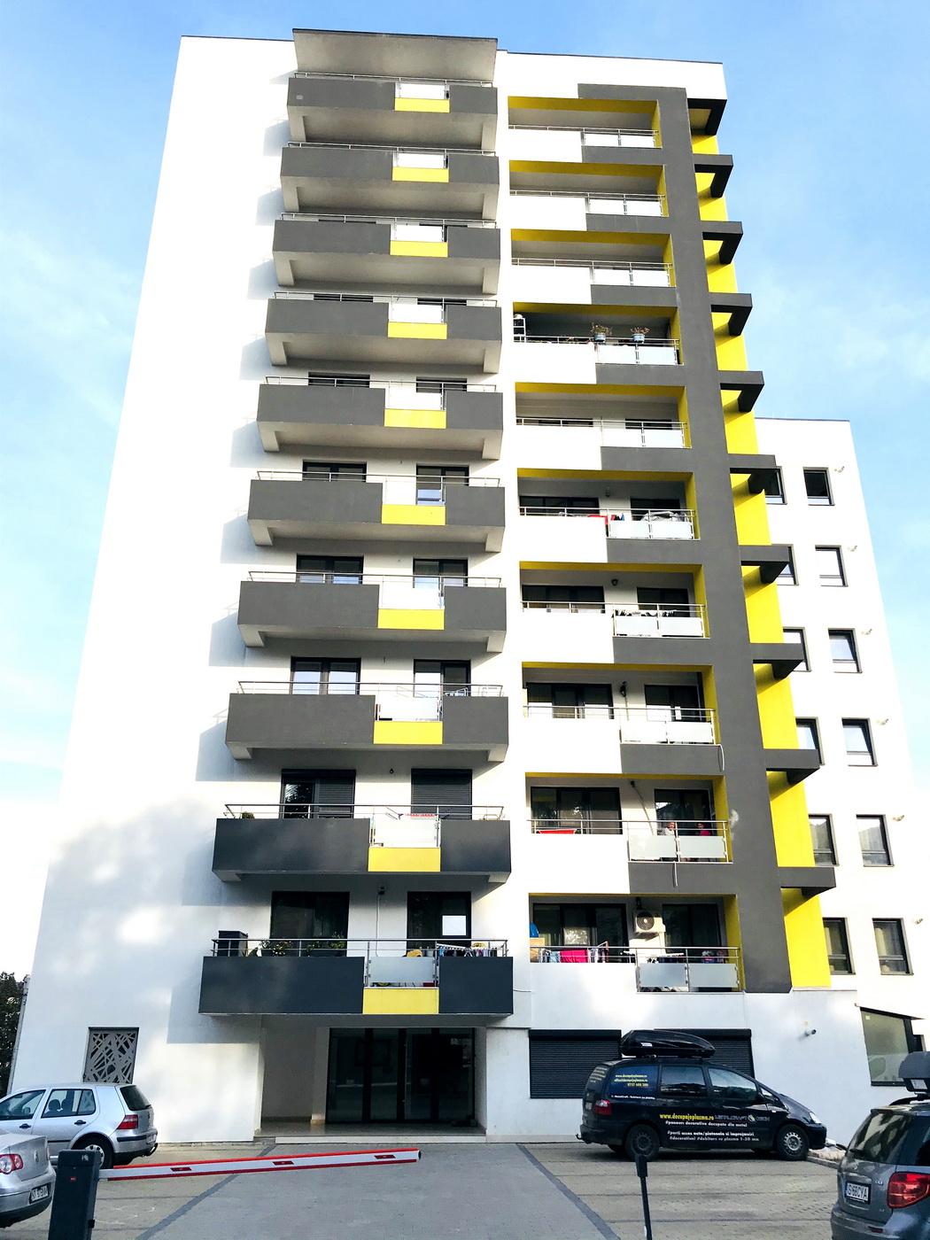 ansamblul rezidential Fusion Towers Iasi